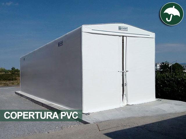 magazzini mobili coperture pvc civert per le aziende
