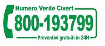 preventivi coperture Civert - numero verde