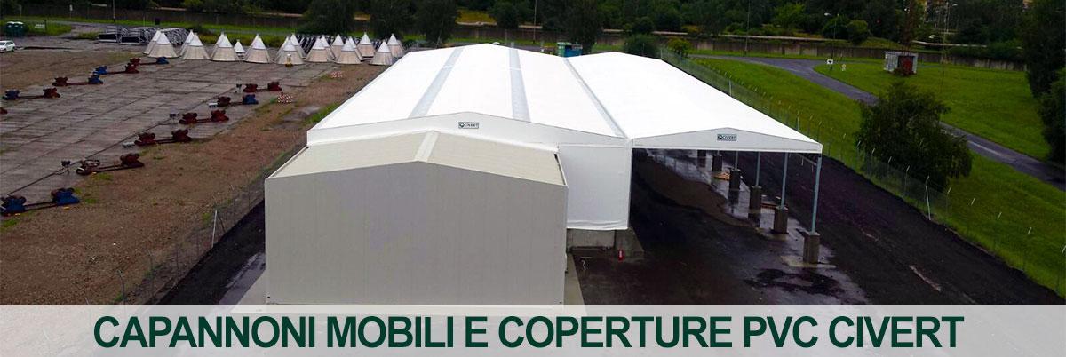 capannoni mobili coperture pvc