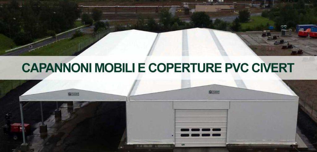 coperture mobili e capannoni mobili Civert