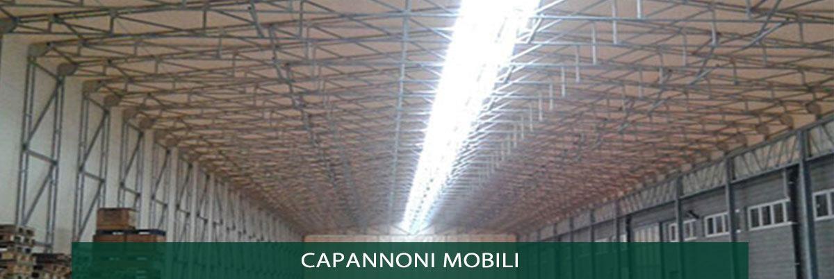 Capannoni in tela tunnel e tetoie mobili e retrattili for Magazzini mobili
