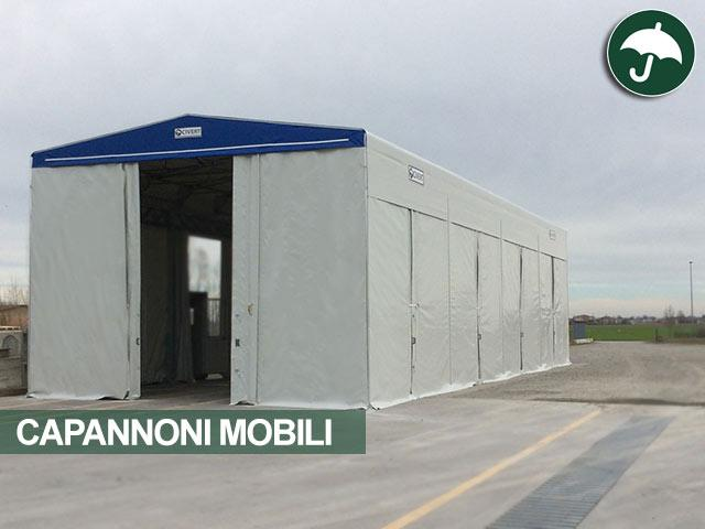 capannoni mobili su ruote