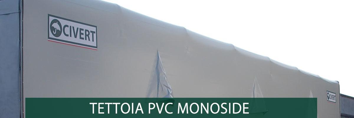 tettoia pvc monopendenza