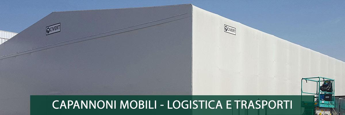 capannoni mobili logistica