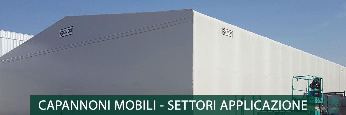 capannoni mobili per i diversi settori di applicazione