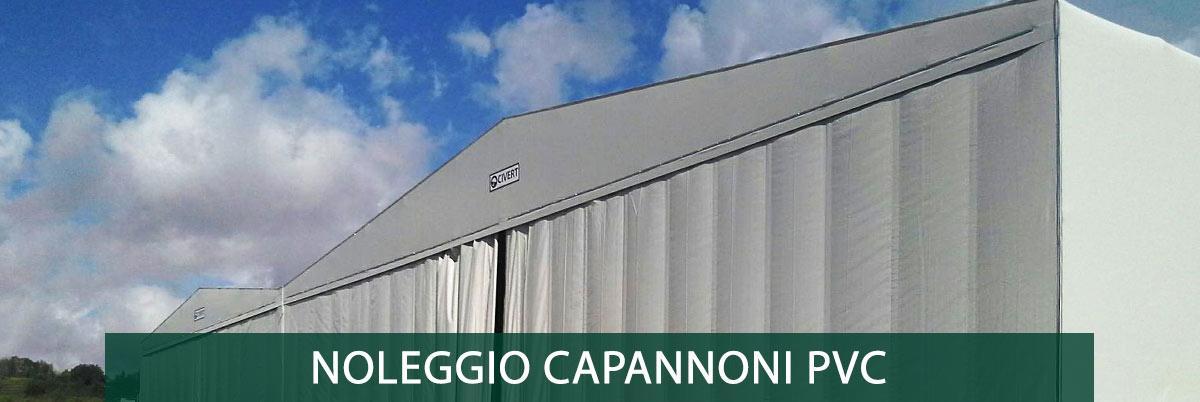 noleggio capannoni pvc