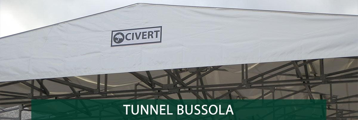 tunnel mobili bussola