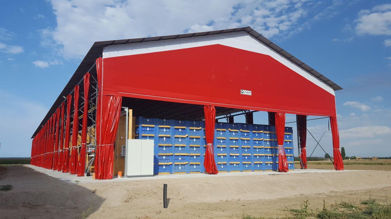 capannoni coibentati civert per magazzino